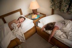 Bambini addormentati Immagine Stock