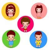 Bambini adorabili Immagini Stock
