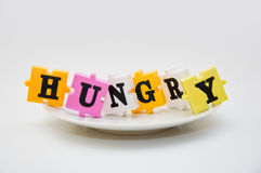 Bambini affamati immagine stock libera da diritti
