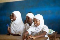 Bambini africani non identificati Immagine Stock