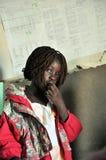 Bambini africani in una scuola Fotografie Stock