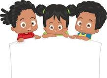 Bambini afroamericani Fotografia Stock