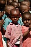 Bambini al banco in Malindi, Africa Kenia Fotografia Stock