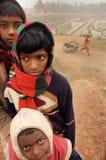 Bambini al Brick-field Fotografia Stock