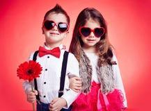 Bambini alla moda Immagini Stock Libere da Diritti
