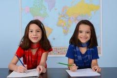 Bambini alla scuola Fotografia Stock Libera da Diritti