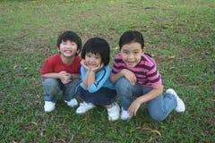 Bambini alla sosta Immagine Stock Libera da Diritti