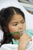Bambini ammalati. fotografia stock