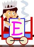 Bambini & serie del treno - E Fotografie Stock