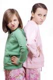 Bambini arrabbiati Fotografia Stock