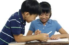 Bambini asiatici Fotografie Stock Libere da Diritti