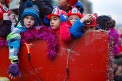 Bambini aspettanti, festività dei tre re Immagine Stock Libera da Diritti