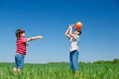 Bambini attivi Fotografia Stock