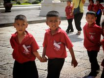 Bambini a Bangkok Fotografia Stock Libera da Diritti