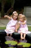 Bambini che giocano i giochi Fotografia Stock
