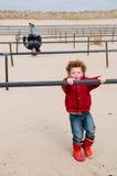 Bambini che giocano sulle barre Immagine Stock Libera da Diritti