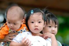 Bambini cinesi Fotografia Stock