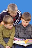 Bambini colti Fotografie Stock Libere da Diritti