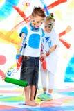 Bambini creativi Fotografia Stock