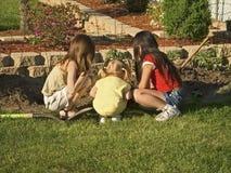 Bambini curiosi Fotografia Stock