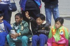 Bambini del African-American ed asiatici Immagini Stock Libere da Diritti