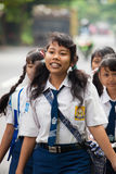 Bambini del banco di Balinese Immagini Stock
