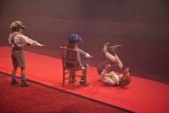 Bambini del circo Immagini Stock Libere da Diritti