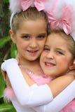 Bambini del coniglietto di pasqua Fotografie Stock