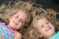 Bambini del gemello identico Fotografia Stock