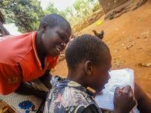 Bambini del Kenya Fotografie Stock Libere da Diritti