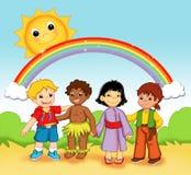 Bambini del mondo Immagini Stock