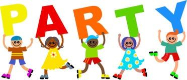 Bambini del partito illustrazione di stock