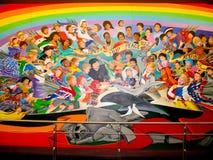Bambini del sogno del mondo di pace Immagini Stock