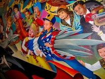 Bambini del sogno del mondo di pace Fotografia Stock Libera da Diritti