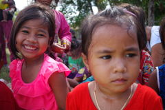 Bambini della Cambogia Immagini Stock Libere da Diritti