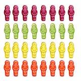 Bambini della gelatina immagini stock