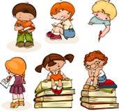 Bambini della scuola Immagine Stock