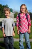 Bambini della scuola elementare Immagine Stock