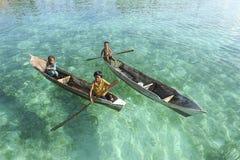 Bambini dello zingaro del mare del Borneo Immagini Stock Libere da Diritti