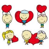 Bambini di amore Fotografie Stock