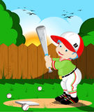 Bambini di baseball Fotografie Stock Libere da Diritti
