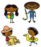 Bambini di estate Fotografia Stock