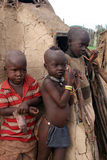 Bambini di Himba Fotografia Stock