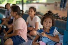 Bambini di Karen della scuola di Banbongtilang Fotografie Stock Libere da Diritti