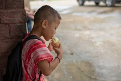 Bambini di Karen della scuola di Banbongtilang Immagini Stock Libere da Diritti