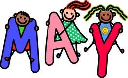 Bambini di maggio Immagini Stock