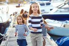 Bambini di modo Fotografia Stock