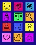 Bambini di morali delle icone Fotografie Stock Libere da Diritti