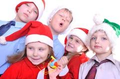 Bambini di natale fotografia stock libera da diritti