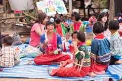 Bambini di Palaung Immagini Stock Libere da Diritti
